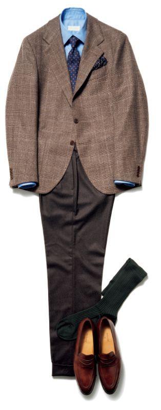 父親×スーツ