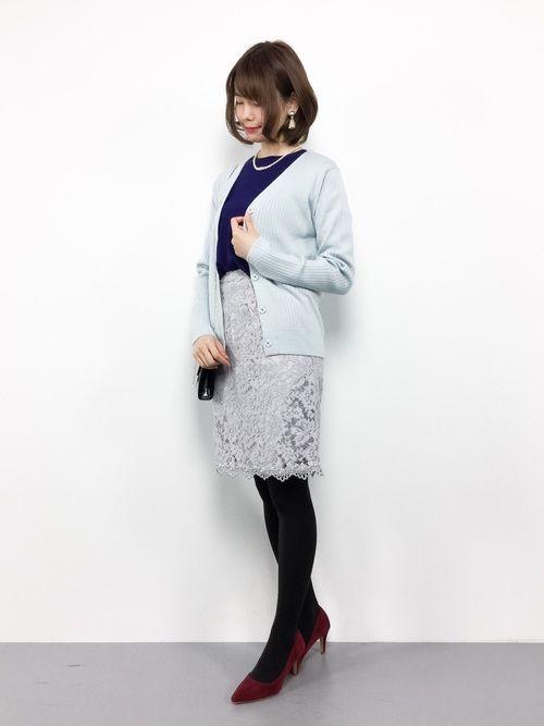 【ホテル忘年会】40代におすすめコーデ2